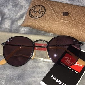 Ray-Ban Round Evolve Lense Sunglasses
